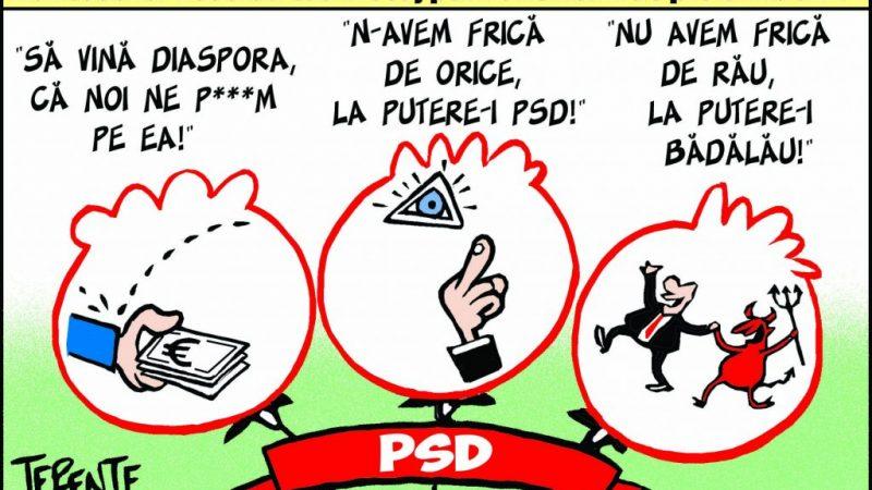 Delirul PSD-ului giurgiuvean