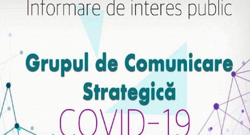 """Grupul de comunicare strategică vine cu precizări referitoare la """"HOTĂRÂREA NR. 14 din 20.03.2020"""" despre care spune că este un DRAFT în lucru"""