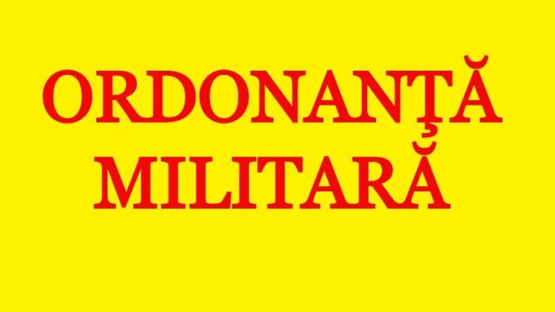 O nouă Ordonanţă Militară – Persoanele peste 65 de ani pot ieşi din casă între orele 7.00-11.00 şi 19.00-22.00