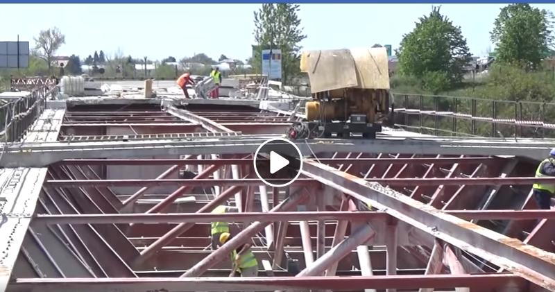 Refacerea podului de la Adunaţii Copăceni – Proiect a cărui derulare a fost permanent urmărită de deputatul Alexandru Andrei