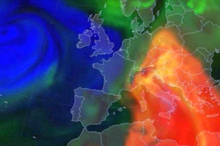 ANM: Nor de praf saharian peste România