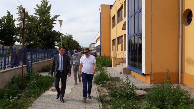 Secretarul General Adjunct al Ministerului Transporturilor, Fabian Tîrcă a fost în vizită de lucru la AFDJ Giurgiu