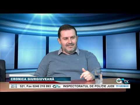 Silviu Dumitrescu invitatul emisiunii TV Cronica Giurgiuveană