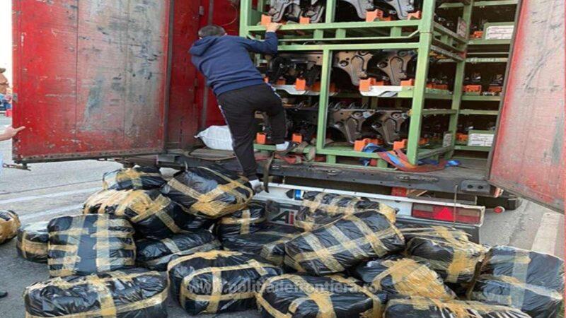 Bunuri în valoare de peste 270.000 de lei, susceptibile a fi contrafăcute,  confiscate de polițiștii de frontieră din P.T.F. Giurgiu