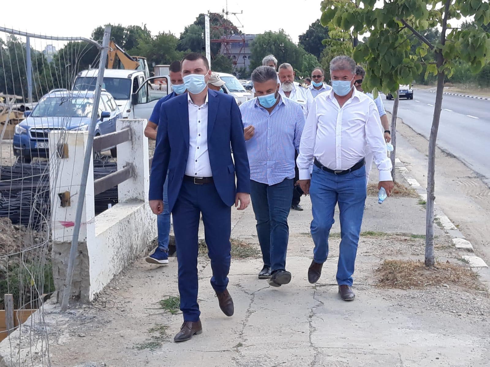 Vizită inopinată la Complexul Căi Navigabile Giurgiu a Secretarului General Adjunct din cadrul Ministerului Transporturilor, Fabian Tîrcă