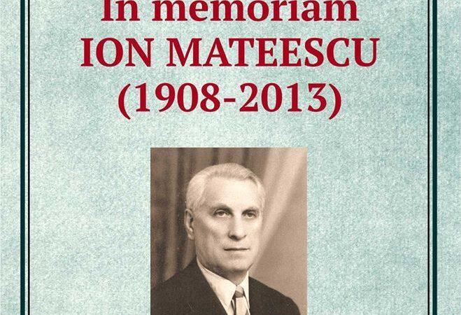 Expoziţie dedicată profesorului giurgiuvean Ion Mateescu.