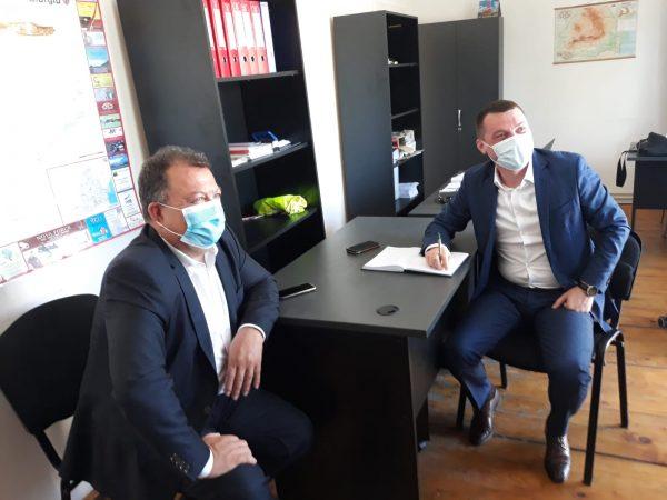 Secretarul General Adjunct din cadrul Ministerului Transporturilor, Fabian Tîrcă din nou în vizită de lucru la Giurgiu
