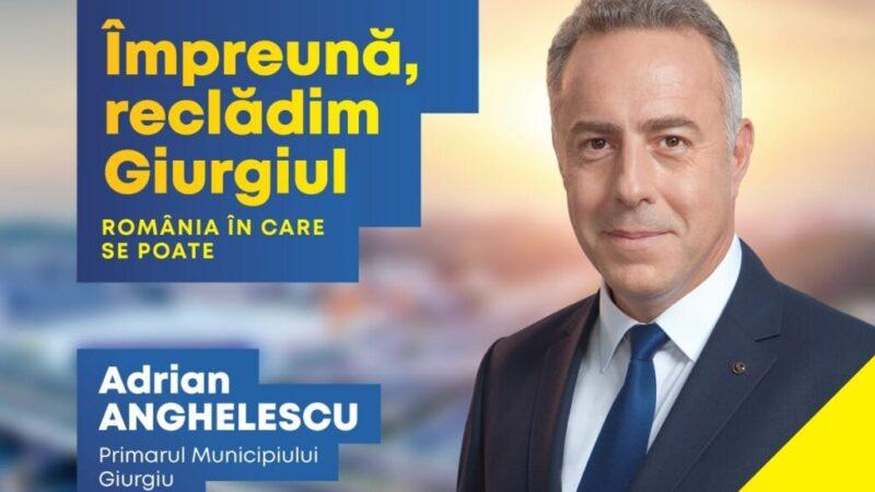 Relaţia mea cu giurgiuvenii va fi una de parteneriat, în niciun caz o relaţie de subordonare, a declarat Anghelescu Adrian, candidatul PNL pentru funcţia de primar al oraşului