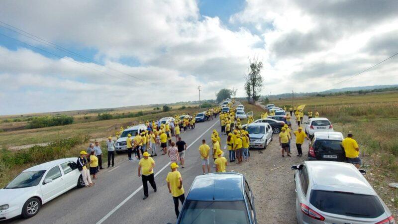 Locuitorii comunei Bucşani vor să înlăture de la putere mafia PSD
