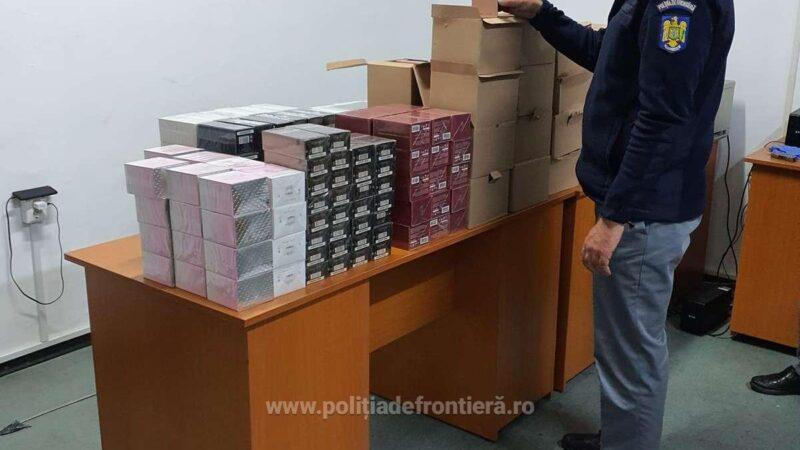 Peste 3.100 articole de vestimentație și parfumerie susceptibile a fi contrafăcute, confiscate de polițiștii de frontieră de la P.T.F. Giurgiu