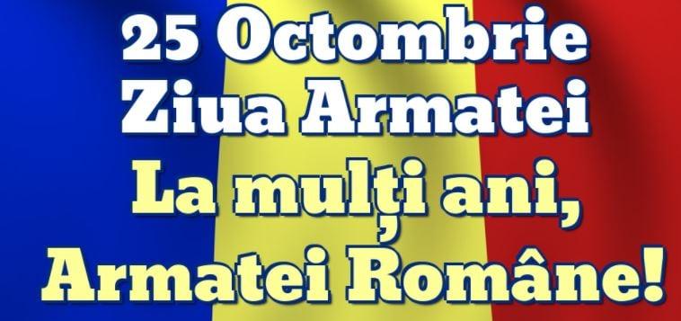 Mesajul deputatului Alexandru Andrei cu ocazia Zilei Armatei Române