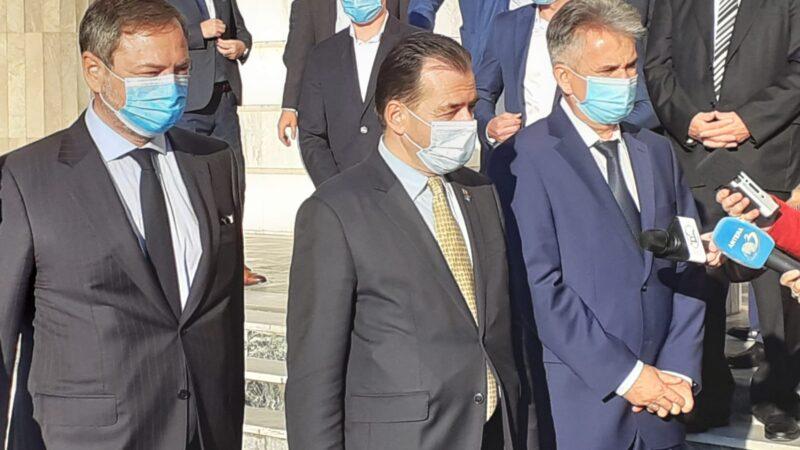 Premierul României Ludovic Orban a fost alături de preşedintele CJ Giurgiu Dumitru Beianu la depunerea jurământului