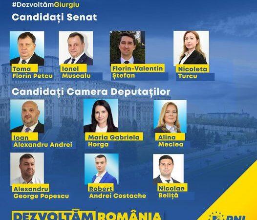 PNL Giurgiu a depus la BEJ listele de candidaţi pentru Senat şi Camera Deputaţilor