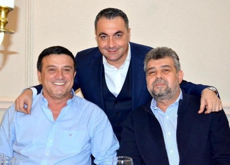 Bădălău a predat şefia partidului finului său Marian Mina