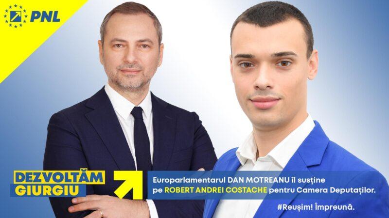 Robert-Andrei Costache candidat PNL pentru Camera Deputaţilor