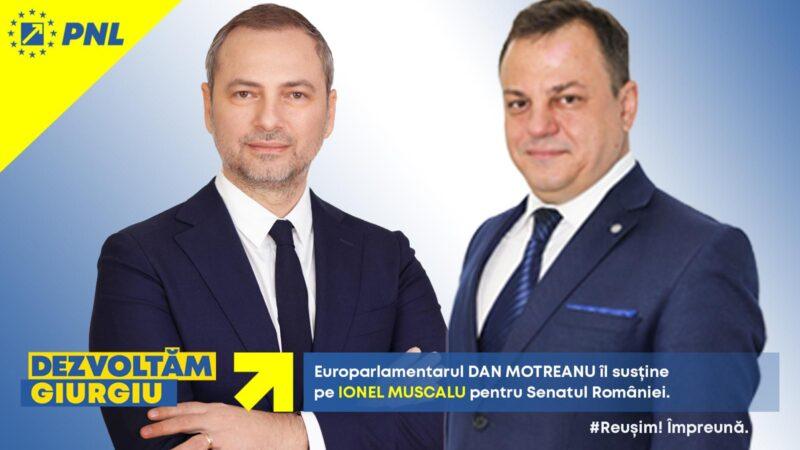 Ionel Muscalu, candidat PNL la Senatul României