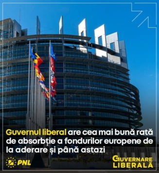 Comunicat de presă – Guvernul PNL, guvernul fondurilor europene