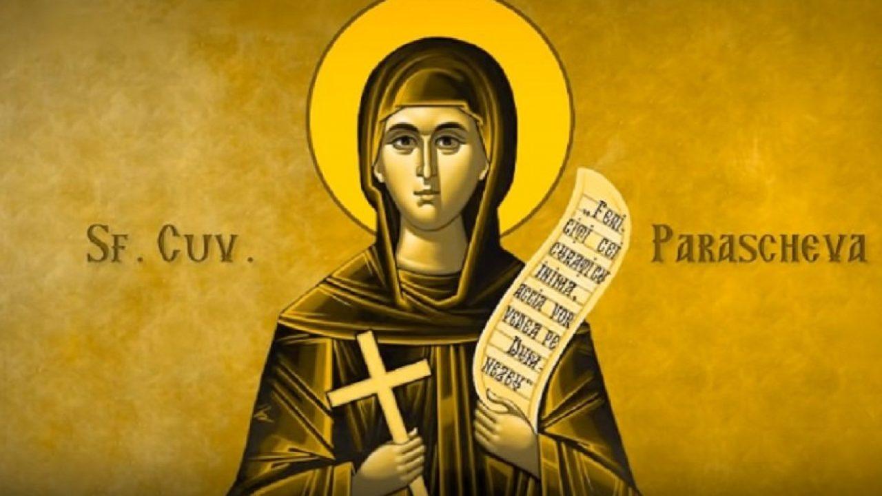 14 octombrie Sfânta Cuvioasă Parascheva: Tradiții și obiceiuri