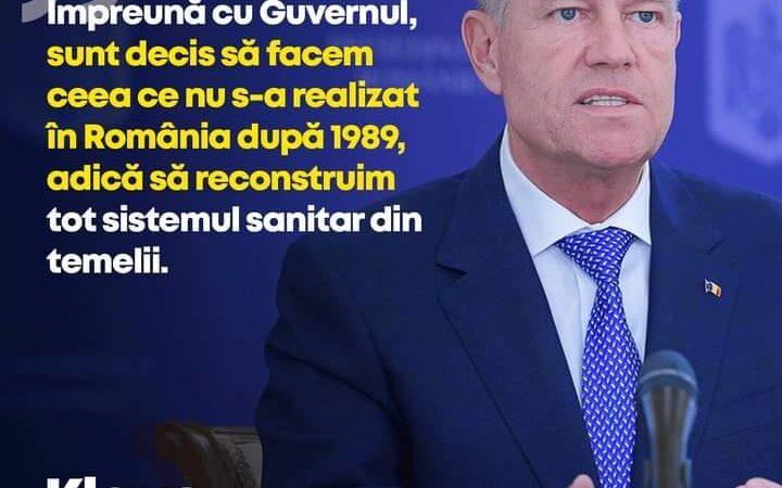 PNL va reconstrui sistemul de sănătate din România