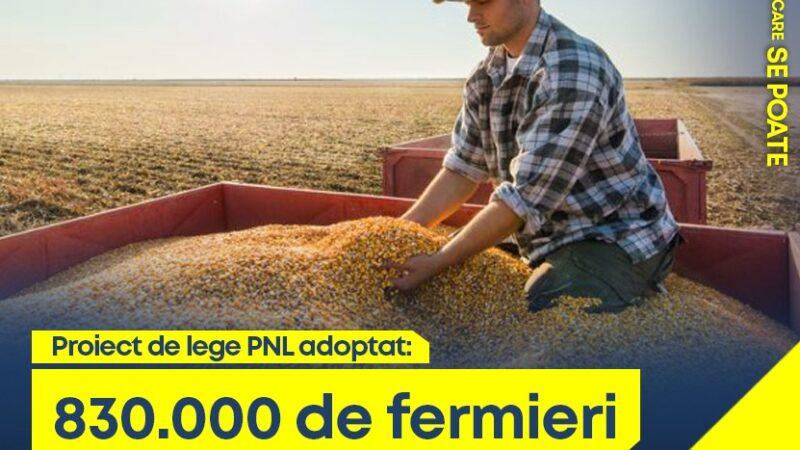 PNL dezvoltă agricultura românească