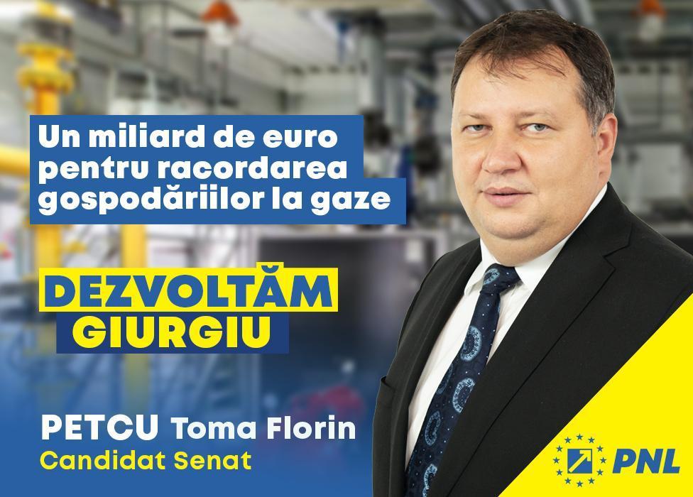 Toma Petcu: PNL  va dezvolta infrastructura locală