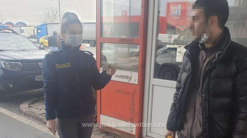 Cetățean turc, depistat în PTF Giurgiu,  cu o carte de identitate ce aparținea altei persoane