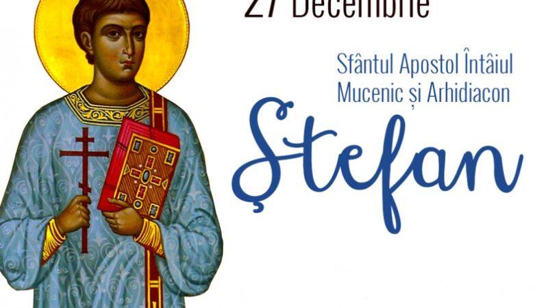 Sfântul Ştefan, mare sărbătoare creştină, celebrat pe 27 decembrie de ortodocşi. Ce tradiţii şi obiceiuri respectă românii