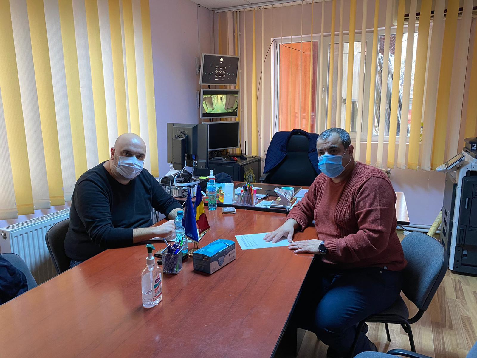 Deputatul Alexandru Andrei întâlnire de lucru cu primarii comunelor giurgiuvene Malu şi Vedea