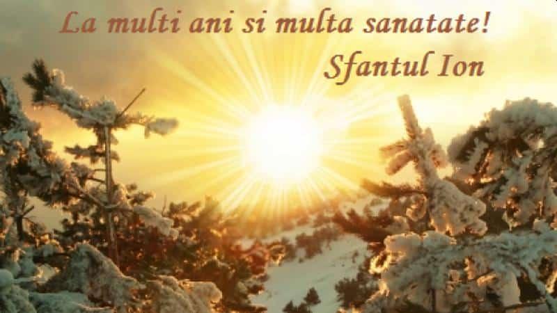 Sfântul Ion (Ioan Botezătorul). Tradiții și obiceiuri la români de această sărbătoare