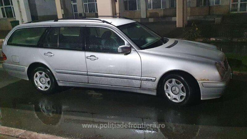 Autoturism căutat de autoritățile din Germania descoperit de poliţiştii de frontieră giurgiuveni