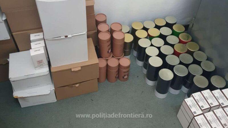 Bunuri estimate la 42.000 de euro, susceptibile a fi contrafăcute, descoperite în P.T.F. Giurgiu