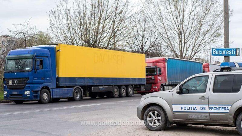 Informare trafic automarfare, la graniţa cu Bulgaria