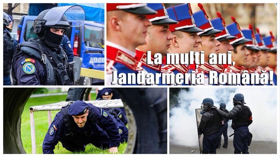Senatorul PNL Toma Petcu urează LA MULȚI ANI, JANDARMERIEI ROMÂNE !