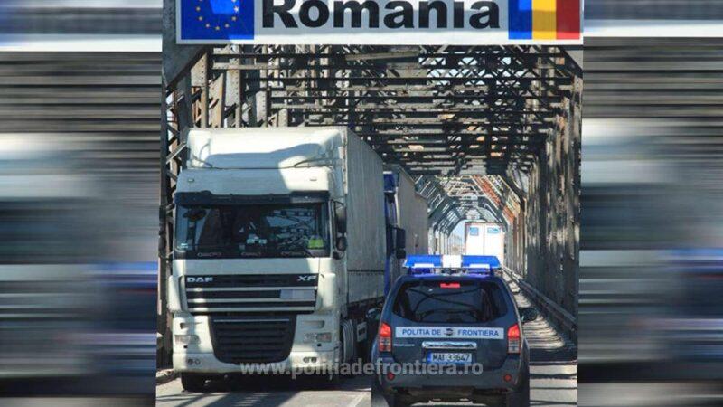 "Informare oprire trafic pe ""Podul Prieteniei"" Giurgiu-Ruse"