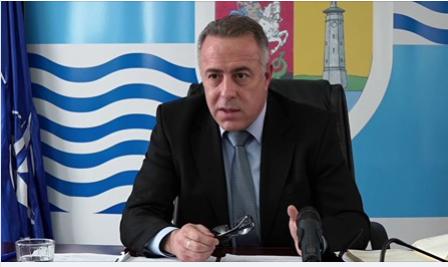 """Primarul municipiului Giurgiu, Adrian Anghelescu, invitatul emisiunii Tv online """"De vorbă cu Mandu"""""""