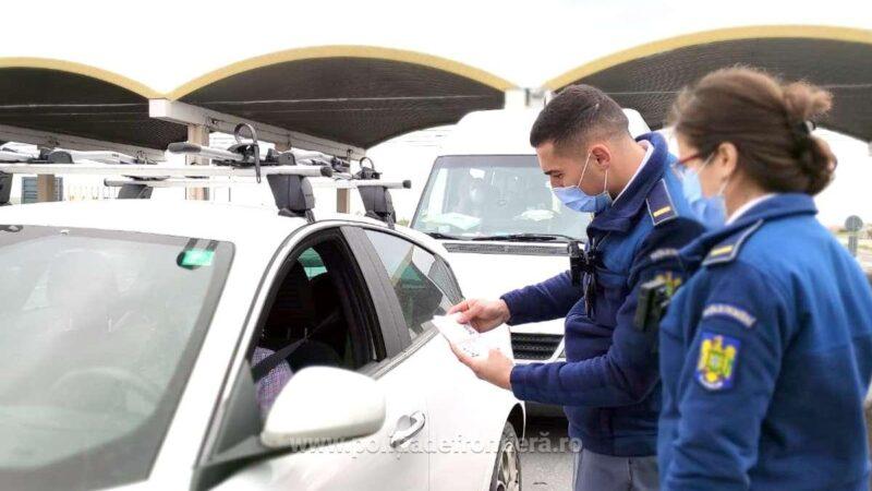 Cetăţean bulgar cu test negativ fals pentru infecţia cu virusul SARS-COV-2, oprit în P.T.F. Giurgiu