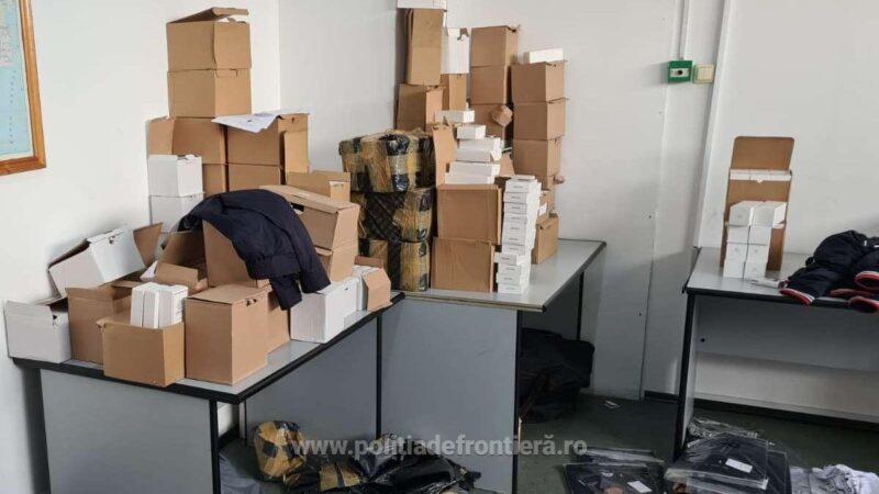 Peste 1.500 de bunuri susceptibile a fi contrafăcute, estimate 68.000 de euro, descoperite în P.T.F Giurgiu