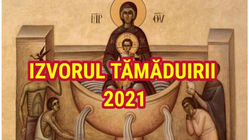 Izvorul Tămăduirii 2021. Ce este bine să faci pe 7 mai