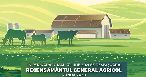 Comunicat de presă privind Recensământul general agricol runda 2020