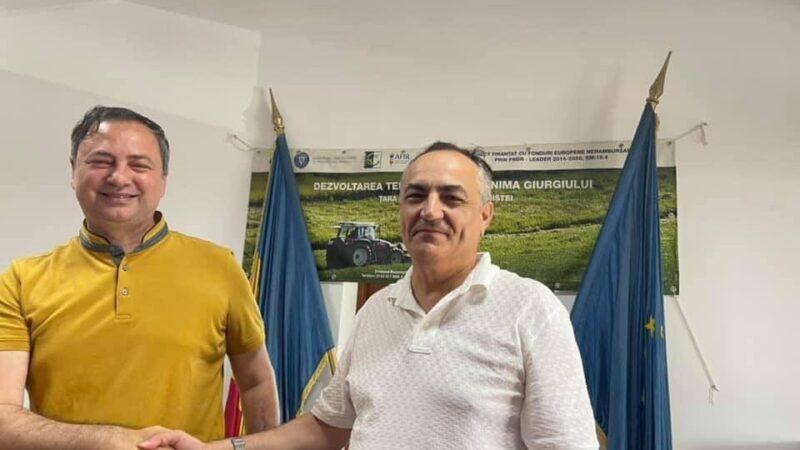 Primarul comunei Ghimpaţi, Constantin Cărăpănceanu a fost reales în funcţia de preşedinte al PNL Ghimpaţi