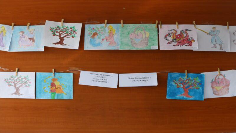 """ȘCOALA GIMNAZIALĂ NR. 1 OINACU s-a alăturat Parteneriatului Educațional Internațional """"PRIETENIE… PE O… SFOARĂ… VIRTUALĂ"""""""