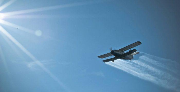 Urmează a doua etapă de dezinsecție aeriană, din 16 iulie