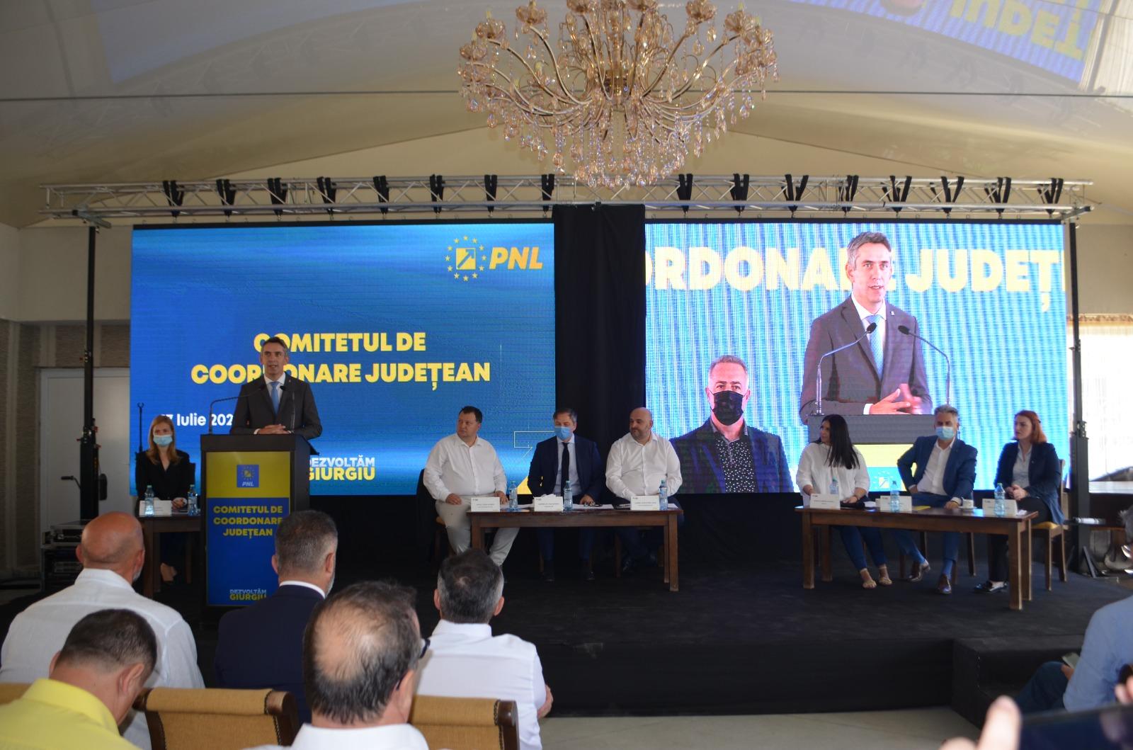 Organizaţia Judeţeană PNL Giurgiu şi-a ales preşedintele în persoana europarlamentarului PNL Dan Motreanu