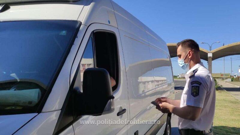 Cetățean turc depistat cu documentul de călătorie al unei alte persoane în P.T.F. Giurgiu