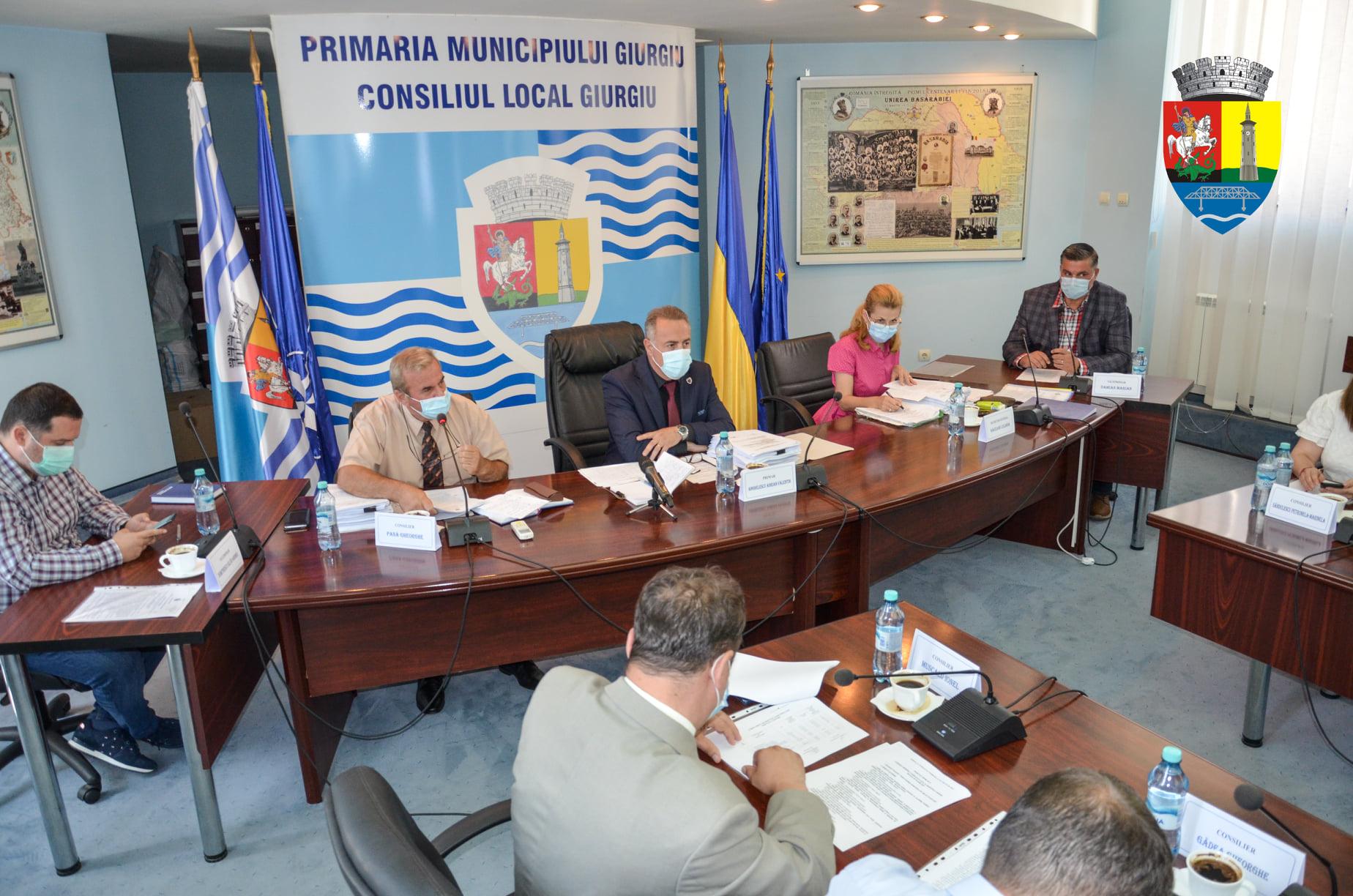 Proiecte de Hotărâri ale executivului propuse spre aprobare CLM Giurgiu