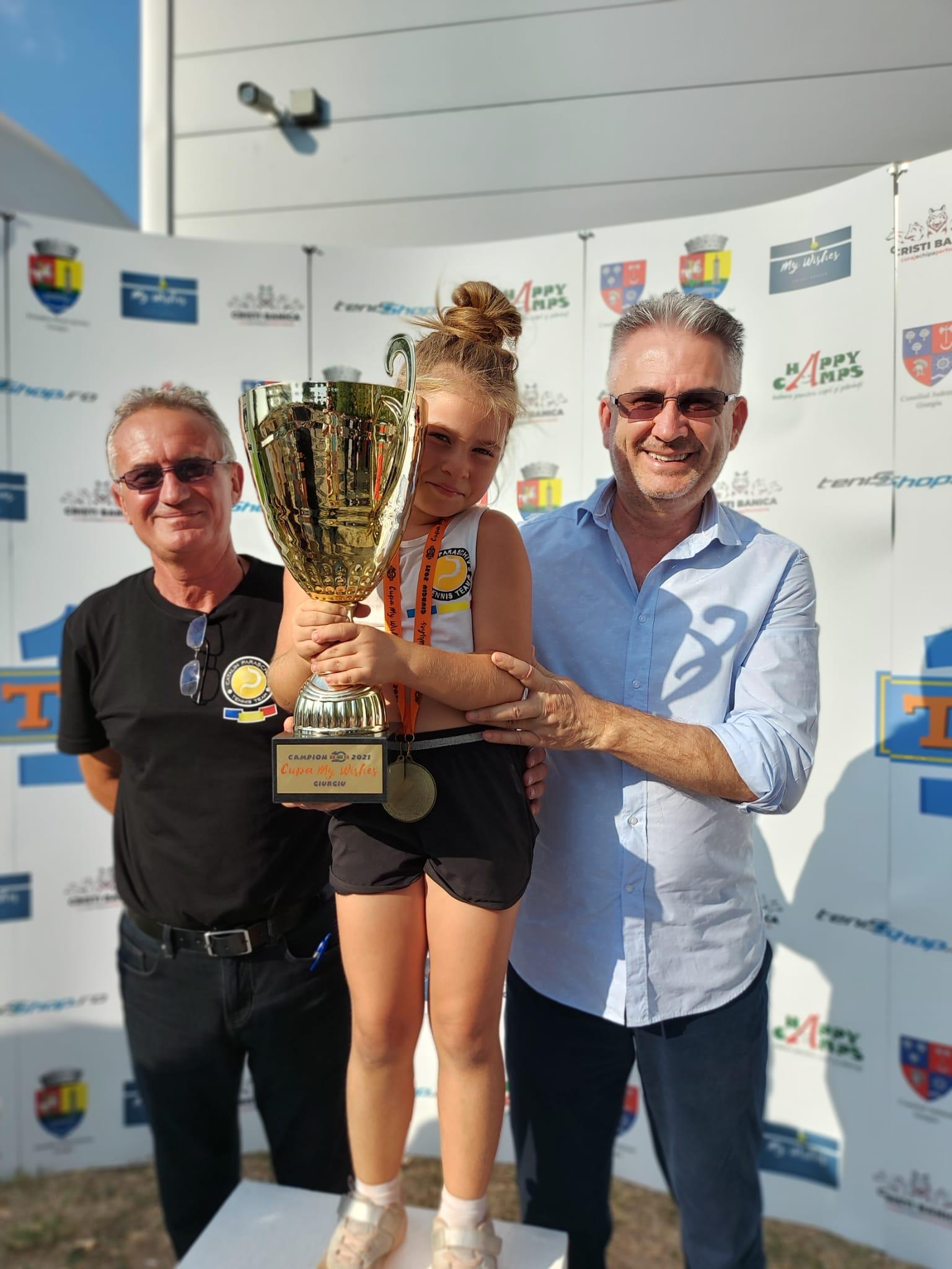 Copiii premiaţi la competiţia sportivă Cupa My Wishes Giurgiu