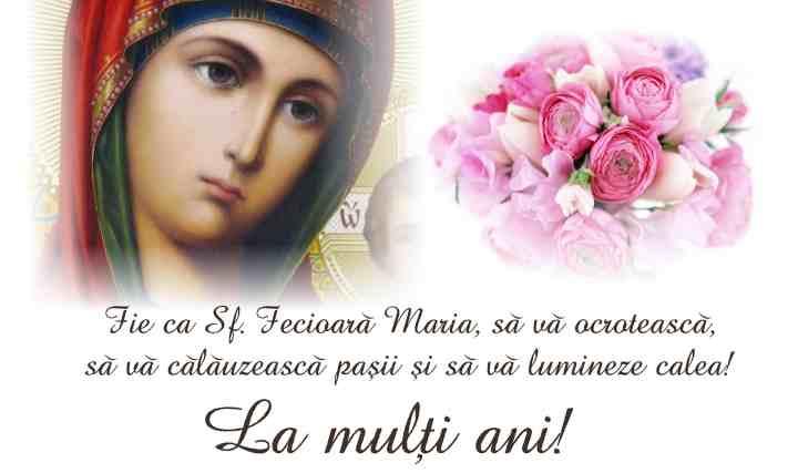 Obiceiuri și tradiții  de Sfânta Maria Mică – Nașterea Maicii Domnului sau Sfânta Marie Mică