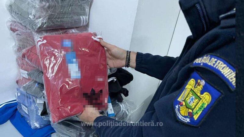 Bunuri contrafăcute descoperite în cala unui autocar la P.T.F. Giurgiu