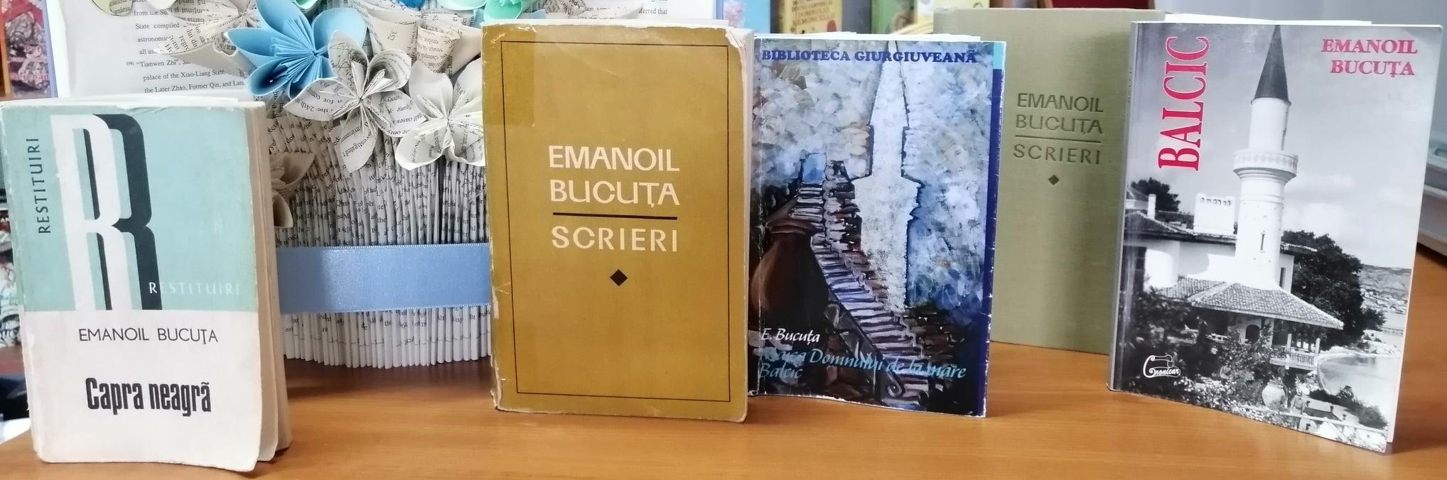 75 de ani de la moartea scriitorului giurgiuvean EMANOIL BUCUȚA